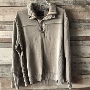 Original Weatherproof Vintage mens sweater tan Med